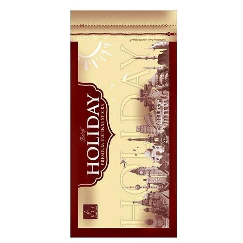 メディカル安全でないレースBAC Perfume Balaji Holiday - Incense Sticks - Set of 3
