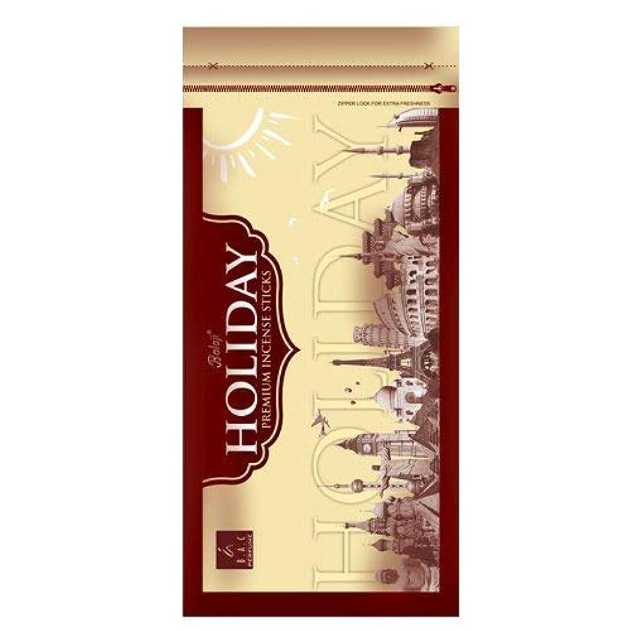 伝導率司令官インフルエンザBAC Perfume Balaji Holiday - Incense Sticks - Set of 3