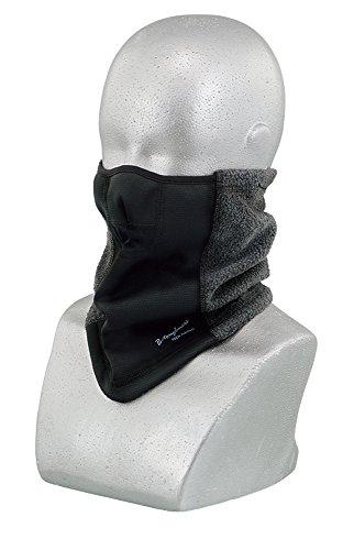 おたふく手袋 ボディータフネス 発熱・保温・防風 ハーフフェイスウォーマー ワンタッチサイズ調整