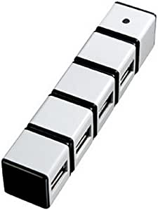 SANWA SUPPLY HUSB2.0ハブ ホワイト USB-HUB229WH