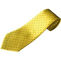 100% Silk Extra Long Polka Dot Tie for Big and Tall Men (63-inch Extra Long and 70-inch Extra Extra Long, 3.75 Inches Wide)