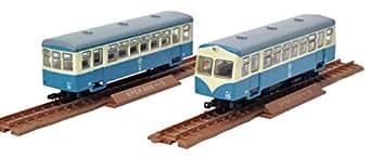 トミーテック ジオコレ 鉄道コレクションナロー80 ナローゲージ80 猫屋線 キハ11 ホハ1形 新塗装 ジオラマ用品