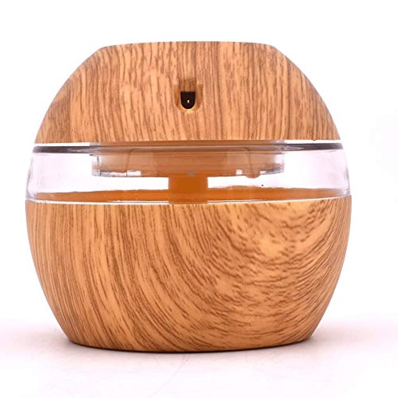 再発する大邸宅好む300ML Aroma Diffuser Essential Oil Diffuser With 7 Color LED Lights Waterless Auto Off