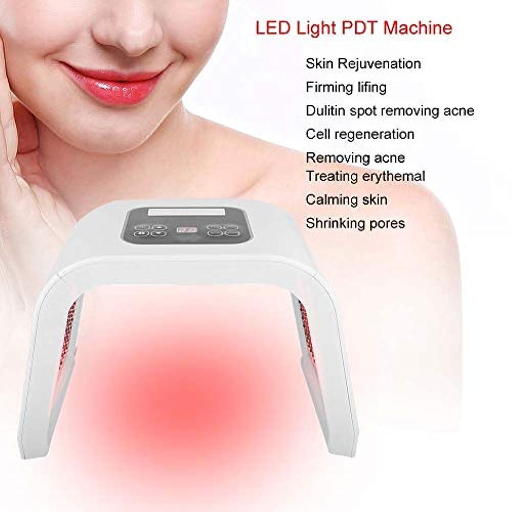 優れた注入あたたかい顔のスキンケアのマスク、LEDライト美機械、4つのタイプ7色PDT LEDライト美の光線力学ランプの皮の若返り機械(米国のプラグ)
