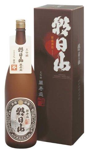 朝日山 萬寿盃 大吟醸酒 1800ml(化粧箱入)