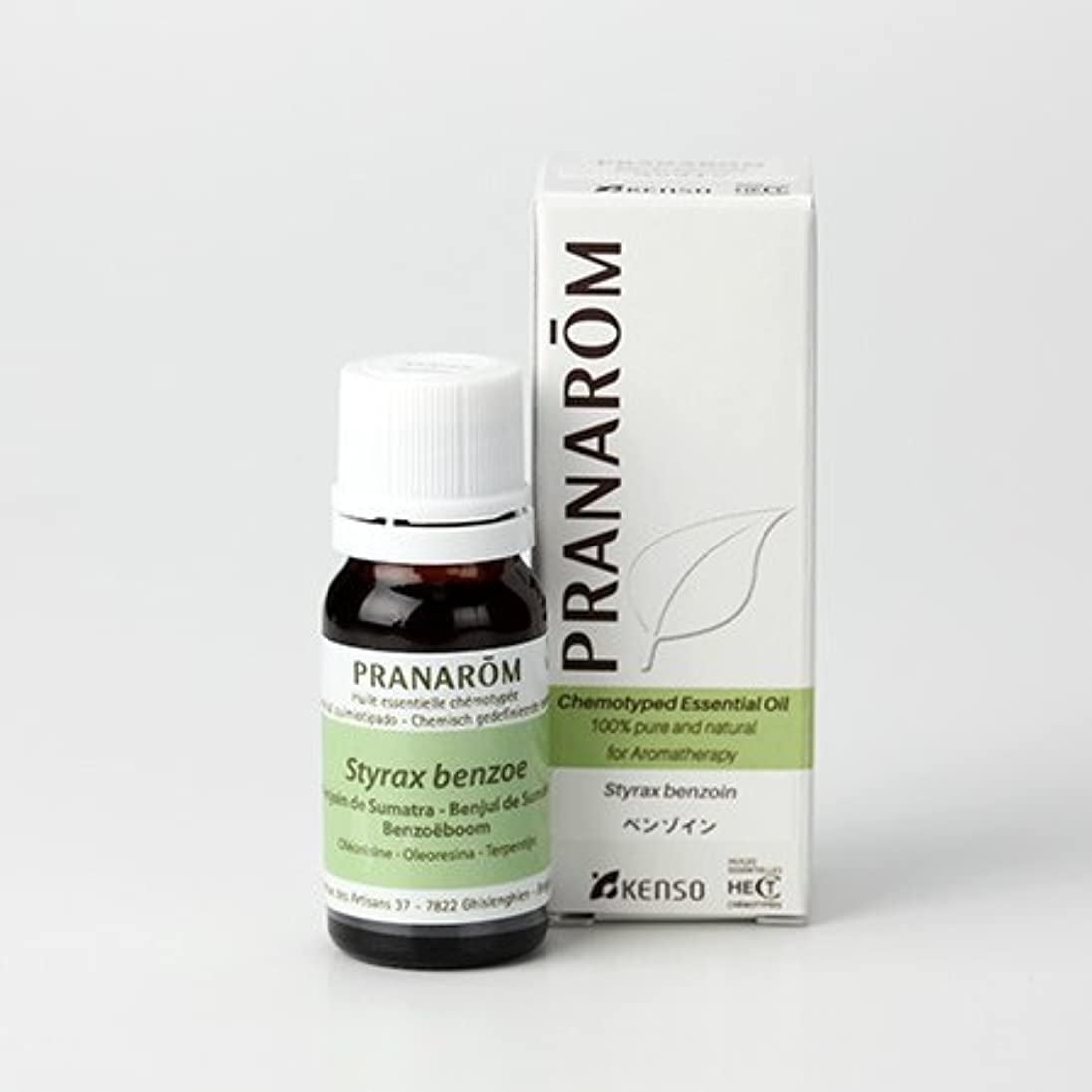 安心させる勢い差別的プラナロム エッセンシャルオイル べンゾイン 10ml