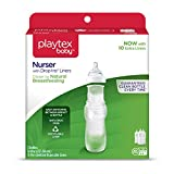 Playtex BPA Free Premium Nurser Bottles with Drop In Liners 3 Count, 8 Ounce by Playtex [並行輸入品]