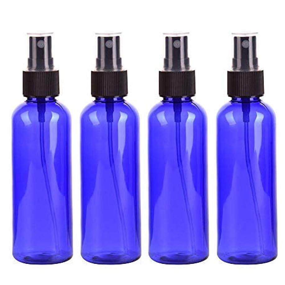 機構見て比べるRoman Center スプレーボトル 保存容器 化粧品ボトル 霧吹き スプレータイプ プラスチック 100ML 4本