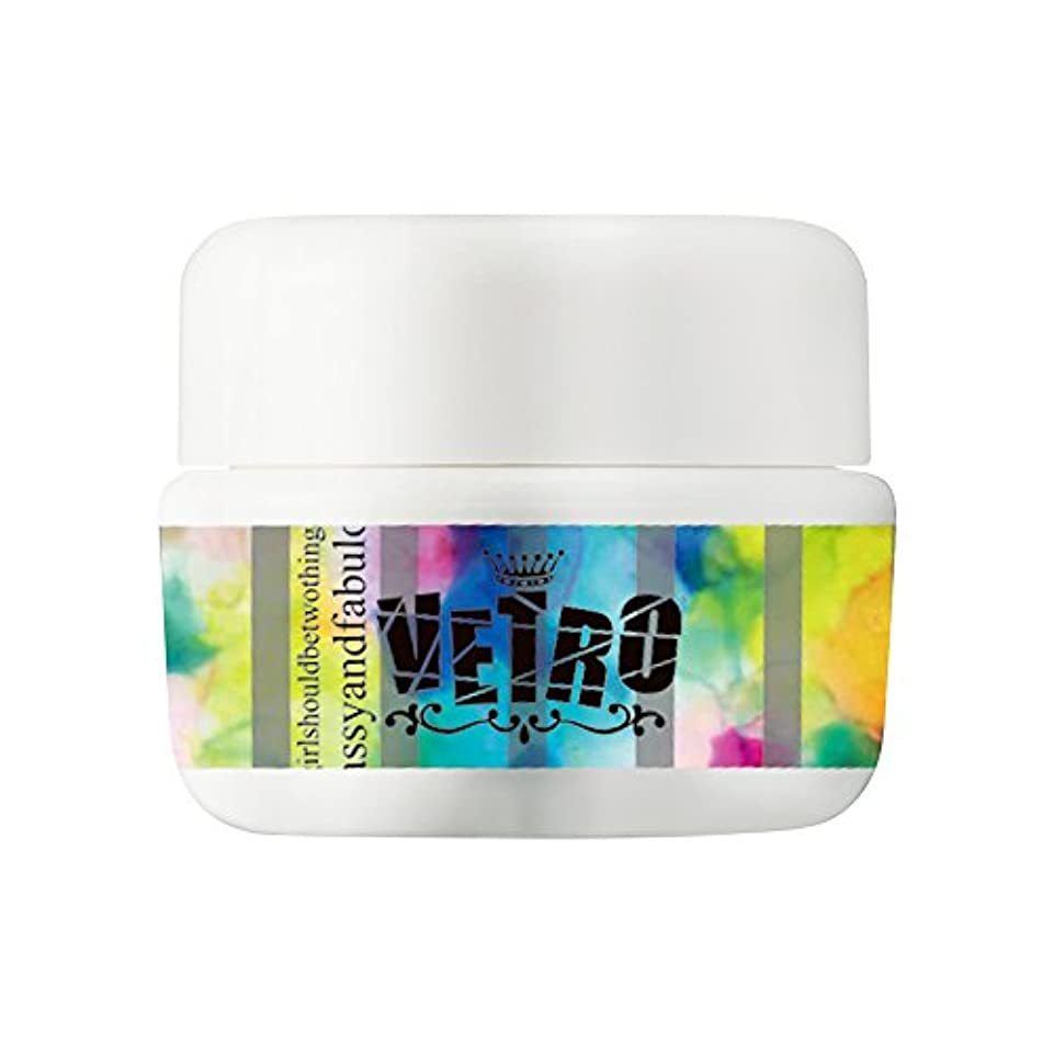 認証自己尊重取得するVETRO カラージェル VL383 アースマリン 5ml UV/LED対応