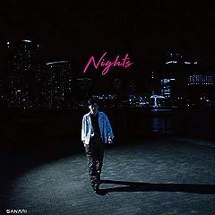 さなり「Nights (feat.OZI & eill)」のジャケット画像