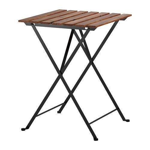 IKEA(イケア):TARNO折りたたみテーブルアカシア材 スチール
