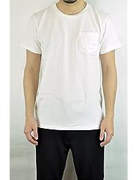 ベルバシーン(VELVA SHEEN)160920 2pac Crew Neck S/S Tee 2パッククルーネックTシャツ 2枚入り ポケット付き ポケT S/STEE 半袖Tシャツ