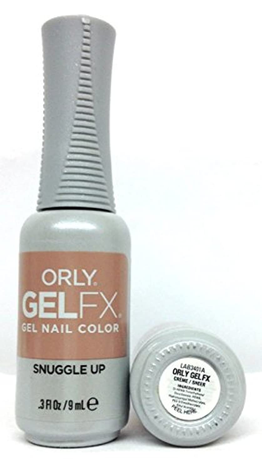 機密レタス逮捕ORLY GelFX - The New Neutral Collection - Snuggle Up - 9 ml / 0.3 oz