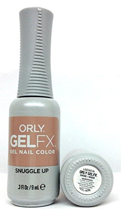 フラッシュのように素早くセグメント援助するORLY GelFX - The New Neutral Collection - Snuggle Up - 9 ml / 0.3 oz