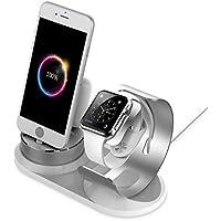 iPhone 充電スタンド 日本語説明書 38mm 42mm対応 同時充電可能 4in1 iPhone / Apple Airpods / iPad Mini /Apple Watch 多機種対応 Apple Watch スタンド Airpods 充電スタンド iitrust並行輸入品