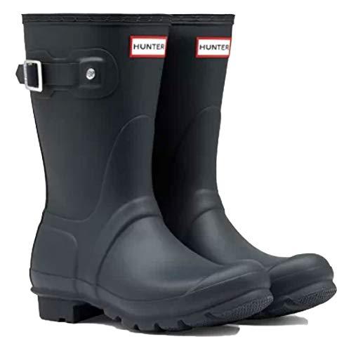[ハンター] レインブーツ 長靴 オリジナルショート ORIGINAL SHORT WFS1000RMA NAVY US7(24.0cm) [並行輸入品]