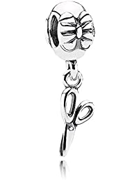PANDORA Charms Sterling Silver Original Vintage Dangling Scissors Dangle Charm