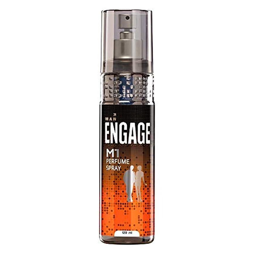 学校の先生蒸留する不完全Engage M1 Perfume Spray For Men, 120ml