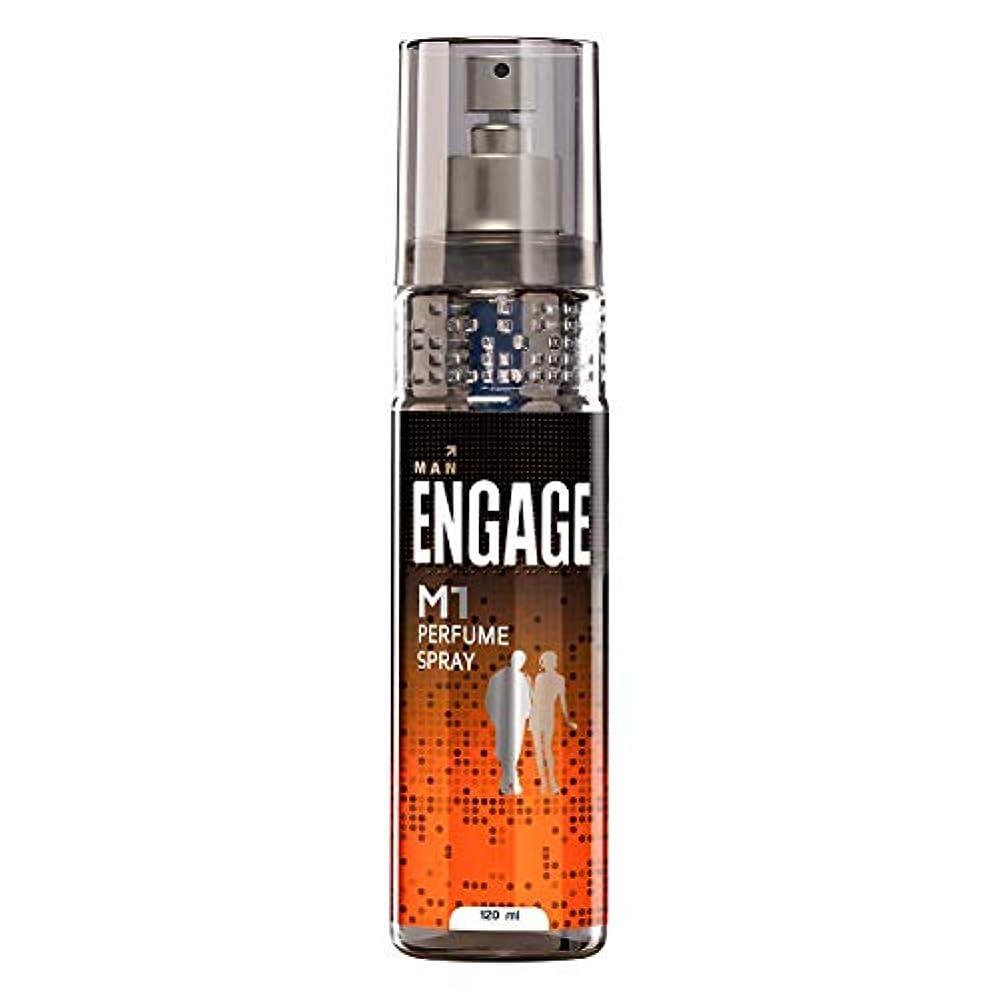 慎重に衣類マーガレットミッチェルEngage M1 Perfume Spray For Men, 120ml