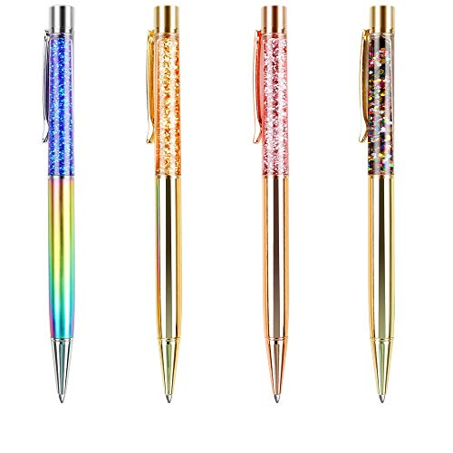 ボールペン BYSOU 高級ボールペン スター キラキラ 高級筆記具 動きに合わせてゆらゆら (星空ボールペン「4色」)
