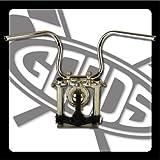 GOODS : SR400/500※(~'84)ディスクブレーキ車 ルーズライドバー・ハンドル(クローム)  ロングワイヤー、ブレーキホースセット