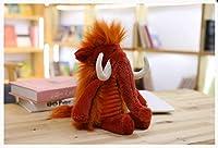 ユニコーン おもちゃ 可愛い長い髪動物 ユニコーン 象 ライオン イノシシ ドラゴンの毛糸の人形 おもちゃ まくら 誕生日 プレゼント 60CM e