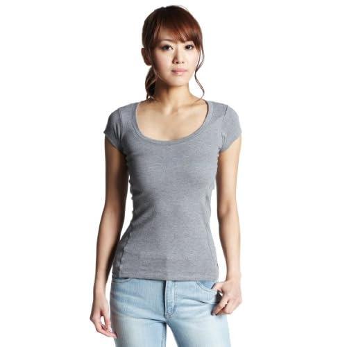 (ジョッキー)JOCKEY 半袖Tシャツ LJ-3246  杢グレー L