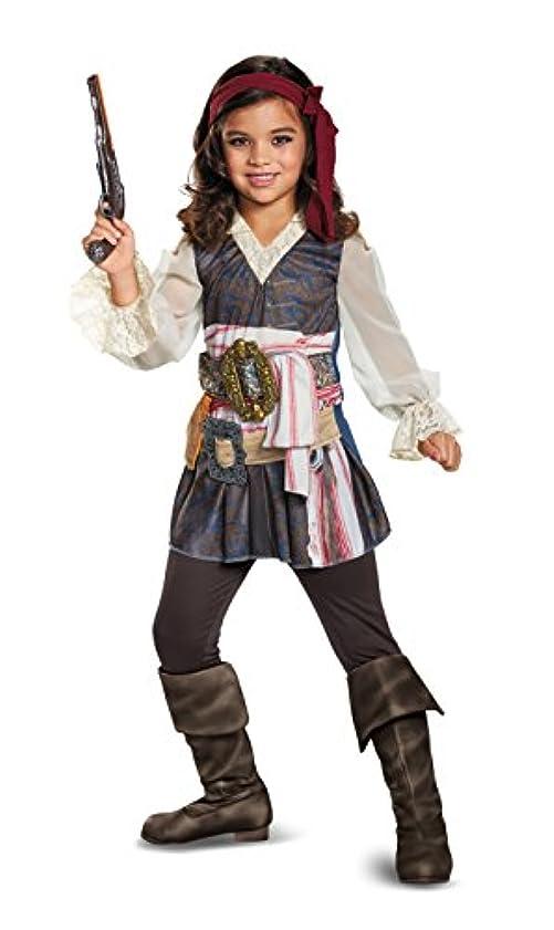 修理可能二ネコキャプテン?ジャック?スパロウ ガール 衣装、コスチューム 子供女性用 「パイレーツ?オブ?カリビアン/最後の海賊」 Potc5 Captain Jack Girl Classic