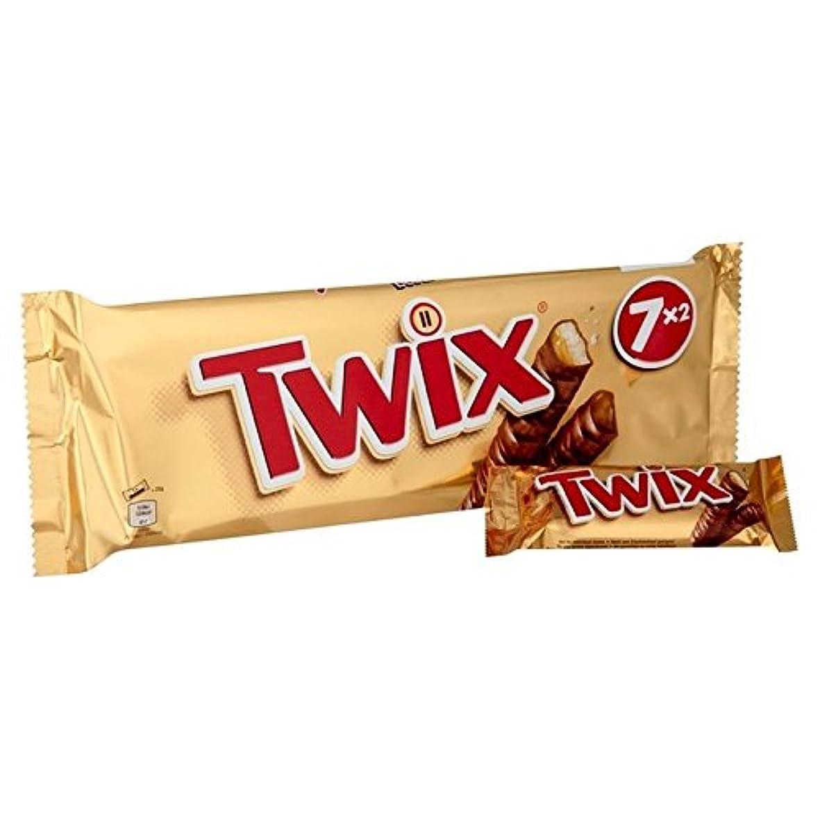 狭い適格ハンディキャップトゥウィックス7×50グラム (x 4) - Twix 7 x 50g (Pack of 4) [並行輸入品]