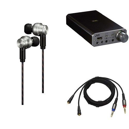 JVC HA-FD01 カナル型イヤホン CLASS-S SOLIDEGE 高解像サウンド/リケーブル/フルステンレスボディ/Jマウントノズルチ