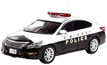ヒコセブン RAI'S 1/43 日産 ティアナ (L33) 2016 茨城県警察地域部自動車警ら隊車両