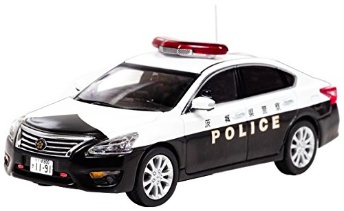 RAI'S 1/43 日産 ティアナ (L33) 2016 茨城県警察地域部自動車警ら隊車両