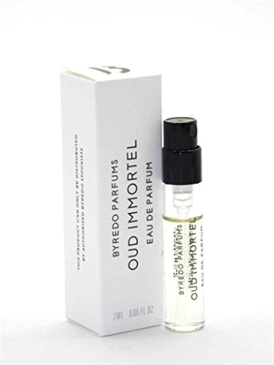 落とし穴非難する援助するByredo Parfums Oud Immortel EDP Vial Sample(バレード ウード インモーテル オードパルファム)2ml サンプル