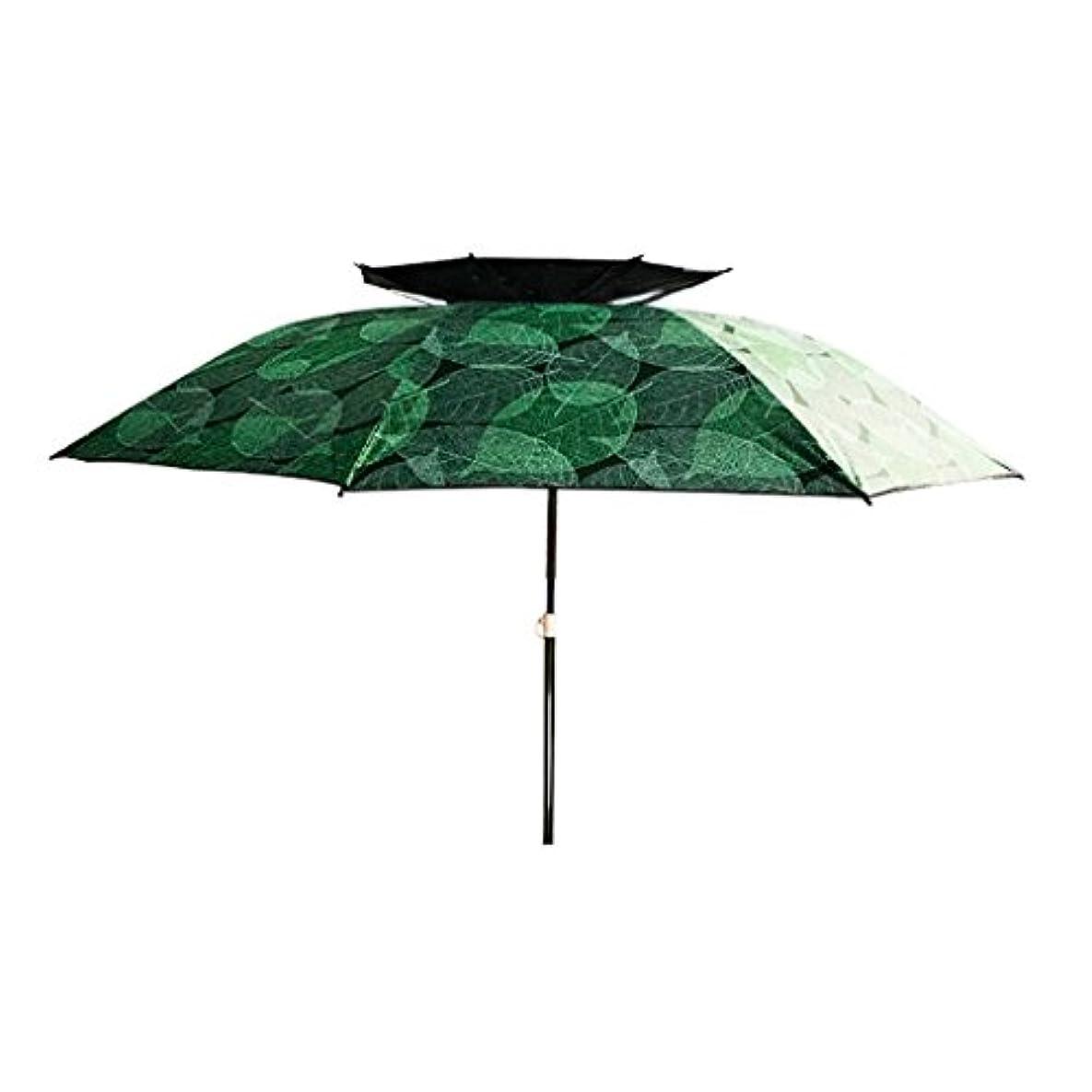 製品スイング木曜日LSS 屋外アンブレラ|釣り傘|傘| 2.2/2.4メートル|ダブル|ユニバーサル|崩壊|レインコート|サンスクリーン| UVプロテクション|アウトドアフィッシングタックル (色 : B, サイズ さいず : 240cm)
