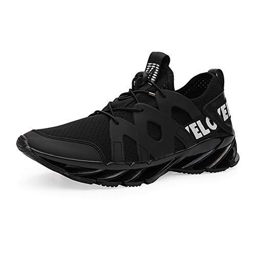 (ダント) Dannto スニーカー ランニングシューズ メンズ ウォーキングシューズ ジョギング カジュアル 運動靴 軽量 通気(C-ブラック,25.0)