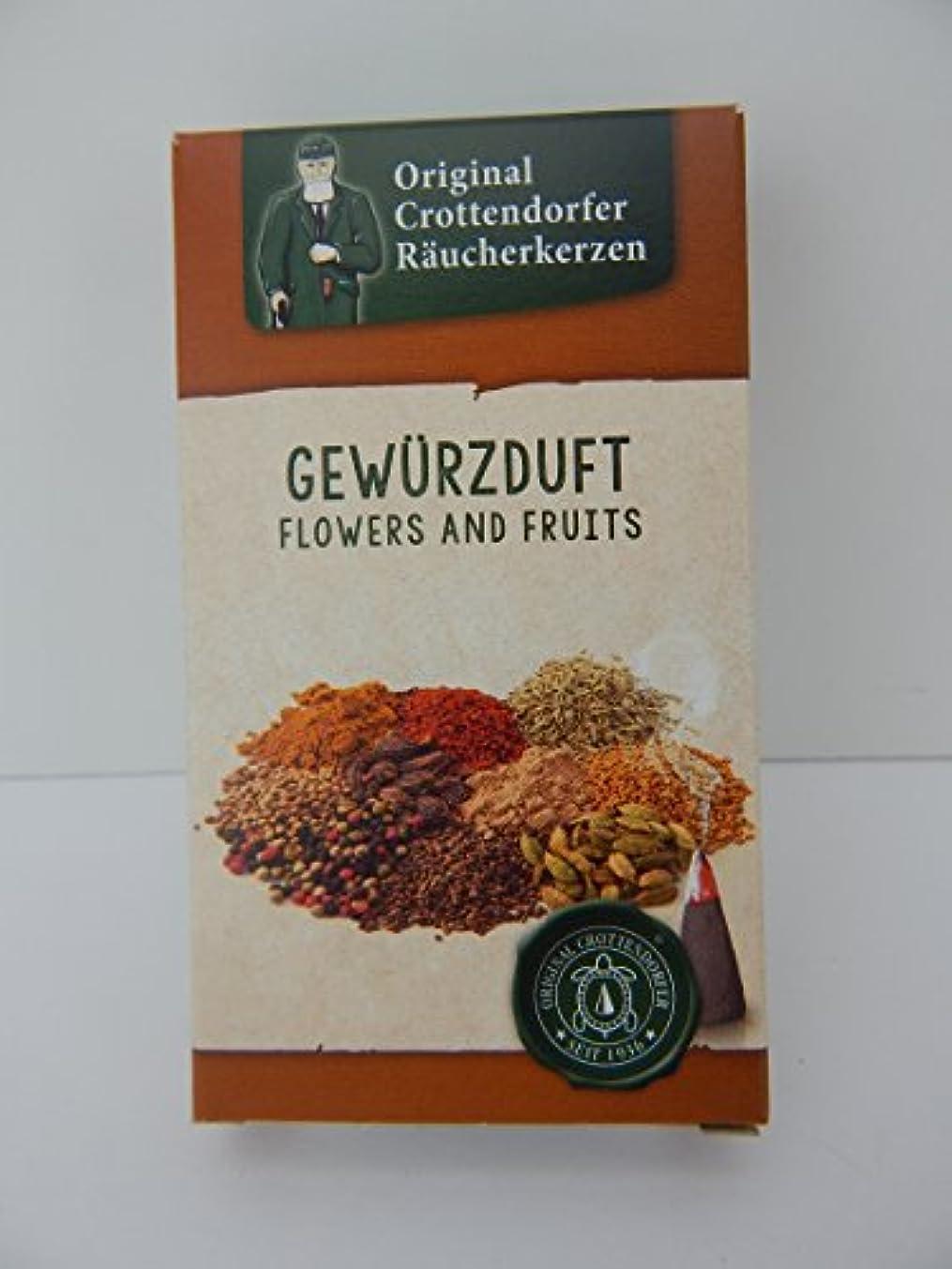 版フェリー強制元Crottendorfer raucherkerzen gewurzduft Spice Incense