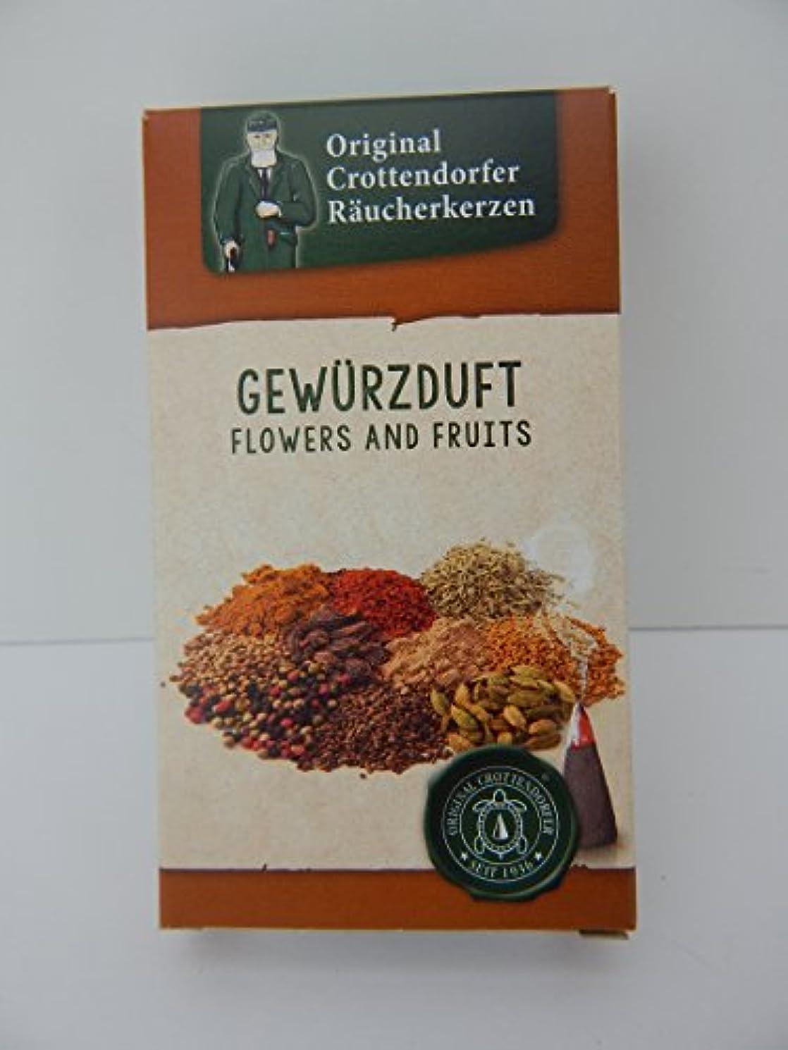 良心スタック競争力のある元Crottendorfer raucherkerzen gewurzduft Spice Incense