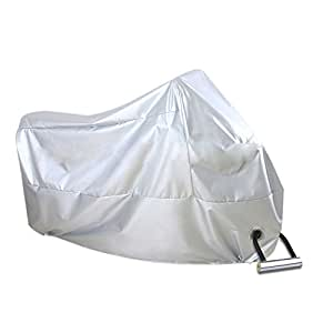Yunhaitian 高機能バイクカバー 防水 耐熱 厚手 収納袋付き