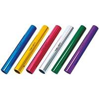 TOEI LIGHT(トーエイライト) アルミバトンセット6(練) G1207 6色1組 収納ナイロンケース付 直径39mm×長さ約30cm