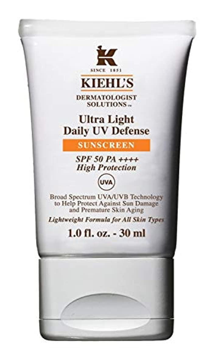 Kiehl's(キールズ) キールズ UVディフェンス 30mL / KIEHL'S Ultra Light Daily UV Defense Sunscreen SPF 50 PA++++