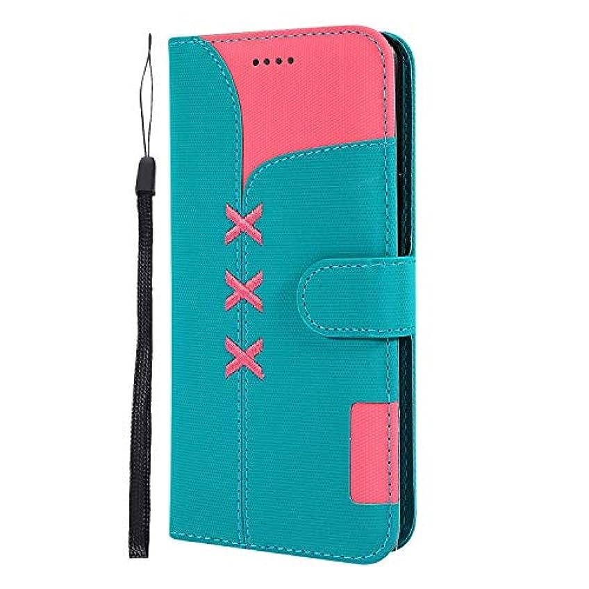 砂利正当な肖像画Lomogo Galaxy S9+ / docomo SC-03K / au SCV39 ケース 手帳型 耐衝撃 レザーケース 財布型 カードポケット スタンド機能 マグネット式 ギャラクシーS9プラス 手帳型ケース カバー 人気 - LOGHU040235 青