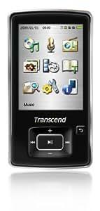 Transcend MP3プレーヤー MP870 8GB ブラック TS8GMP870K