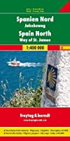 Spain North - Way of St. James Road Map 1:400 000