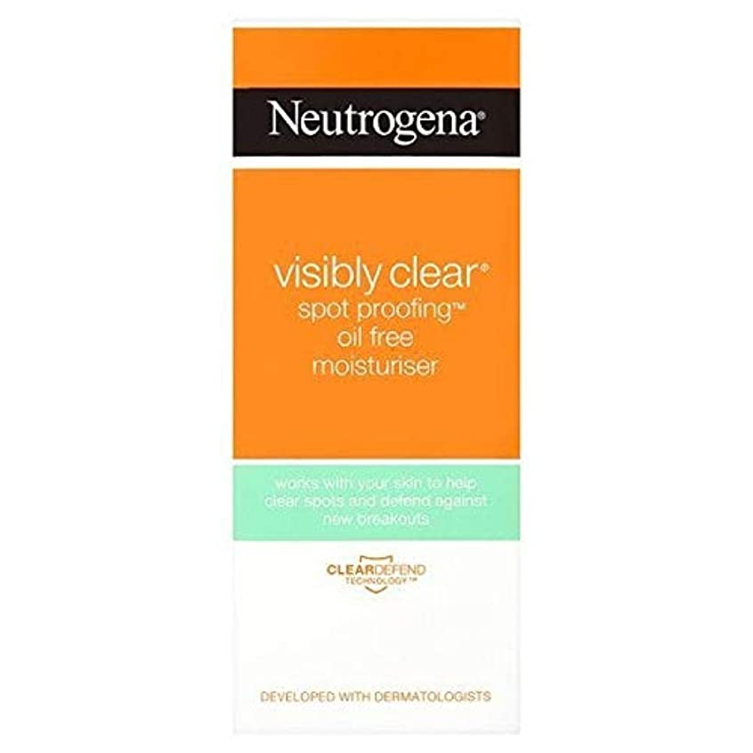引く脅迫困惑する[Neutrogena ] ニュートロジーナ目に見えて明らかスポットプルーフ保湿50ミリリットル - Neutrogena Visibly Clear Spot Proofing Moisturiser 50ml [並行輸入品]