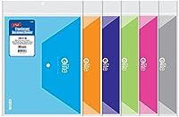 BAZICクリアレターサイズドキュメントホルダー–2/ Pack 144個SKU # 762016MA