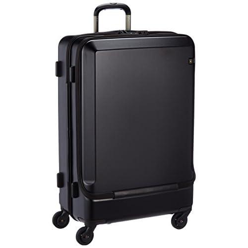 [エースジーン] スーツケース ジェットパッカーs TR サイレントキャスター 75L 70cm 5.2kg 05594 01 ブラック