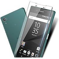 Erin Sony Xperia Z5 液晶保護フィルム 強化ガラスフィルム SO-01H/SOV32/501SO 対応 全面保護 耐指紋 自動吸着 気泡ゼロ 飛散防止