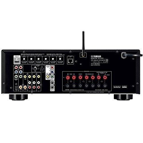 ヤマハ AVレシーバー 7.1ch/ネットワーク対応/4K対応/Bluetooth内蔵 ブラック  RX-V579(B)