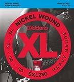 【 並行輸入品 】 D'Addario (ダダリオ) EXL230 Nickel Wound ベースギター 弦, Heavy, 55-110, Long Scale