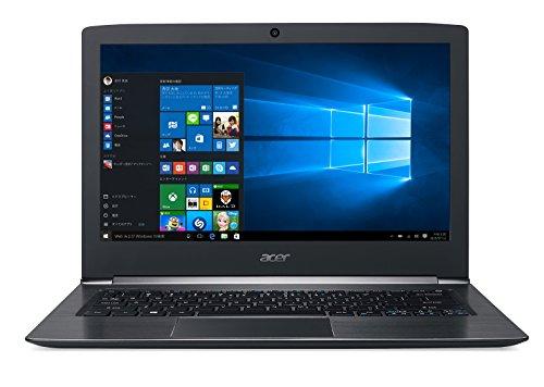Acer ノートパソコン Aspire S 13 S5-371-A54Q/K(ブラック) Windows10/Core i5-6200U/13.3インチ/4GB/128GB